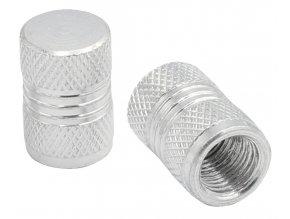 CNC Čepičky ventilků stříbrná