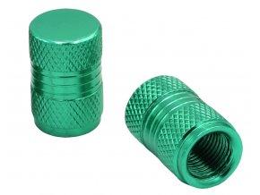 CNC Čepičky ventilků zelená