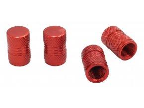 CNC Čepičky ventilků na automobil červená
