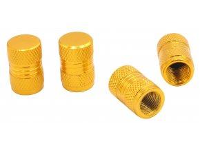 CNC Čepičky ventilků na automobil zlatá