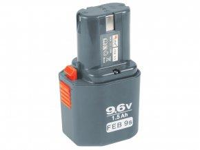 baterie akumulátorová NiCd, 9,6V pro 8891103 a 8891105
