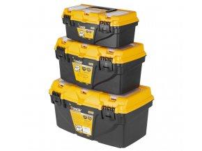 Sada plastových kufrů, 3 v 1 - HT490032