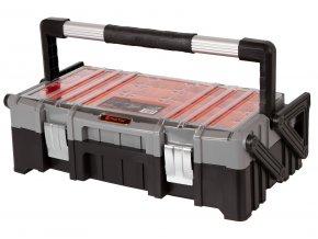 Rozkládací kufr na nářadí s organizérem - TC320300