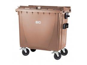 Plastový kontejner 770 lt. - hnědý - BIO