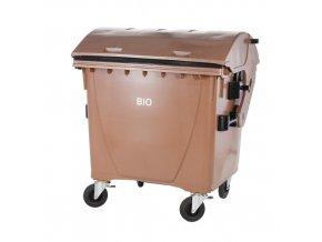 Plastový kontejner 1100 l na BIO odpad