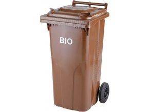 Plastová nádoba popelnice 120 l. - bio s roštem