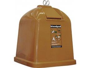 Sklolaminátový kontejner pro BIO odpad - HB 2,1 m3