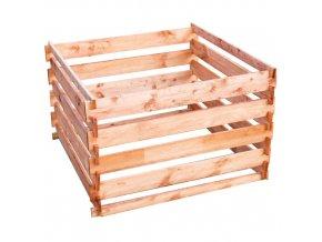 Dřevěný kompostér - silo 1200x1200 mm