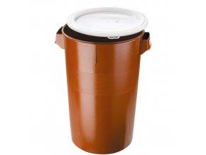 Plastový odpadkový koš 50 l s víkem