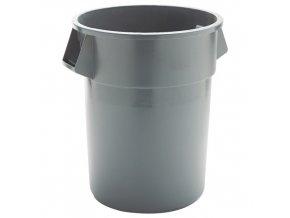 Plastová nádoba Round brute 167 l. - šedý