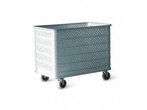 Hliníkový vozík pro manipulaci - perfo stěny