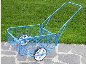 Ruční dvoukolový vozík 80kg VD 11 (Rukojeť Sklopná rukojeť)