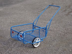 Ruční dvoukolový vozík 50kg VD 15 (Rukojeť Sklopná rukojeť)