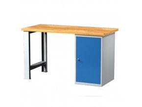 Pracovní stůl s kont. skříňkou 1500 mm