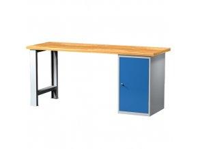 Pracovní stůl s kont. skříňkou 2000 mm