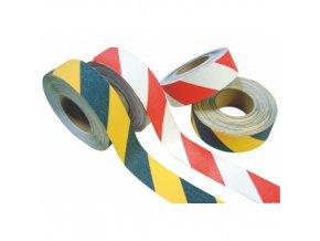 Protiskluzová páska 50 mm x 18,3 m - červeno-bílá