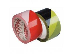 Lepicí páska žluto-černá 50x66 (mm x m)