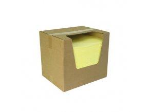 Sorpční rohože žluté,lehké,40 x 50 cm,200 ks/balení