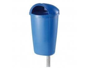 Plastový odpadkový koš 50 l. - modrý