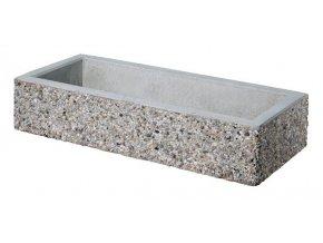 Betonový květináč 1200x500x250 mm