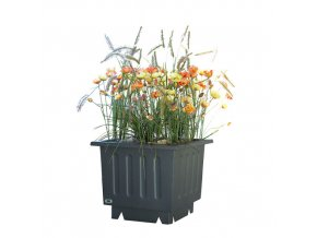 Ocelový venkovní květináč VIDA