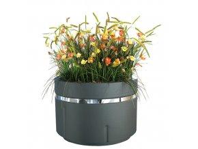 Ocelový venkovní květináč REDOLDA