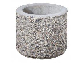 27902 betonovy kvetinac 500 x 500 mm