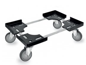2127 vozik na prepravky 40 x 60 cm 4 otocna kolecka bez brzdy