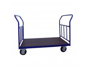 421 plosinovy vozik 1200x700 se svislymi prickami 500 kg pryzova kola