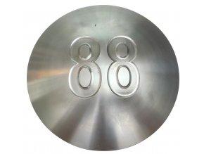 593 nerezovy terc 160mm nabehova hrana 1mm s cisly