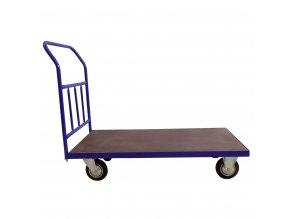 394 plosinovy vozik 1200x600 se svislymi prickami 500 kg pryzova kola