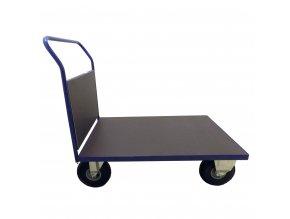 403 plosinovy vozik 1100x700 s bocni deskou 500 kg nafukovaci kola