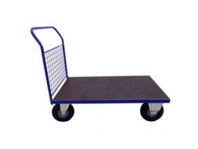 406 plosinovy vozik 1200x700 se siti 500 kg nafukovaci kola