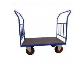 418 plosinovy vozik 1000x600 se svislymi prickami 300 kg nafukovaci kola 01
