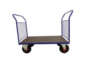 424 plosinovy vozik 1200x700 se sitemi 500 kg nafukovaci kola