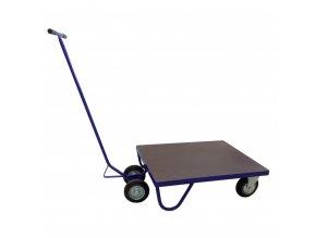 433 plosinovy vozik 900x710 s podjizdeci rukojeti 500 kg pryzova kola