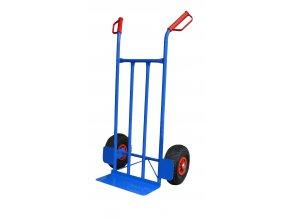 Rudl standardní HOBBY 250 kg RN52 (Nosnost 200 kg, Průměr kola 260 mm, Typ kola Nafukovací s plastovým diskem)
