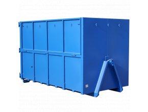 31763 velkoobjemovy kontejner avia se sklopnymi bocnicemi 9 m3