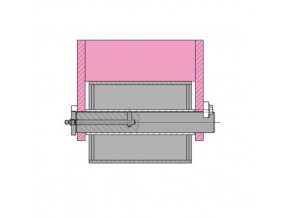 31958 drzak rolny abroll 200 mm