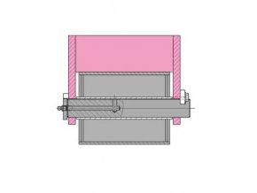 Držák rolny Abroll 200 mm