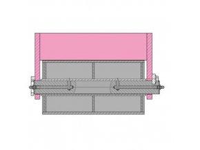 31967 drzak rolny abroll 300 mm