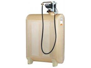 GT - laminátová nádrž na naftu s výdejním zařízením 2000 litrů (7062)