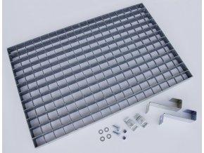 Ocelový rošt k odstranění hrubé nečistoty(10741)