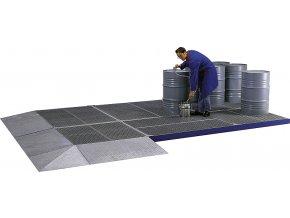 Systém povrchové ochrany z oceli FS 55/13/28 lakovaný(10617)