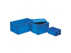 Plastová přepravka RL - KLT 400x300x147