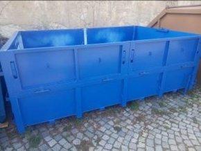Velkoobjemový kontejner AVIA sklopné bočnice 6,8 m3