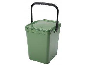 Odpadkový koš URBA 26 l. zelený