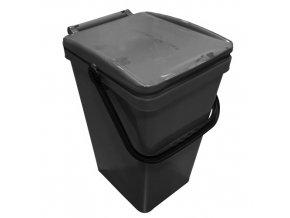 Odpadkový koš URBA 26 l. šedý