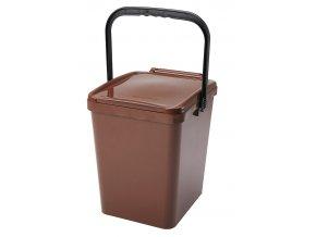 Odpadkový koš URBA 26 l. hnědý