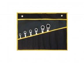sada klíčů ráčnových s možností dorazu 6-dílná v obalu